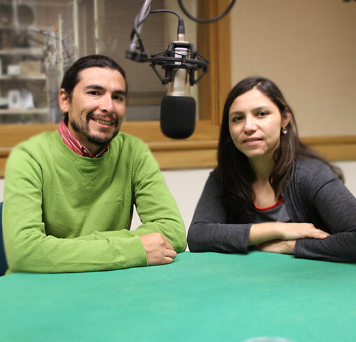 Radio Talk en la Embajada de Estados Unidos en Chile